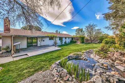 Washoe County Single Family Home For Sale: 13790 Rancheros Drive