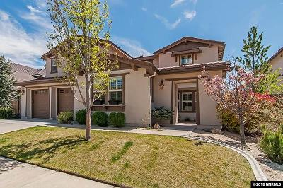 Reno Single Family Home For Sale: 8850 Scott Valley Ct