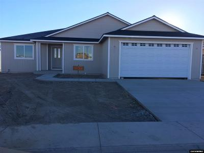 Fernley Single Family Home Active/Pending-Loan: 1847 Endeavor