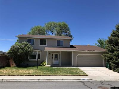 Carson City Single Family Home For Sale: 3444 Dilday Drive