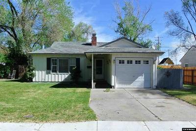Reno Single Family Home Active/Pending-Call: 2101 Westfield Avenue