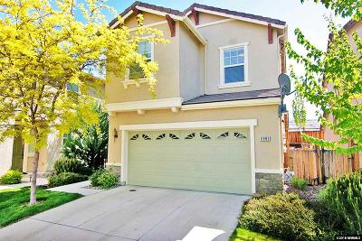 Sparks Single Family Home Price Reduced: 6983 Sacred Circle