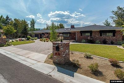 Reno Single Family Home For Sale: 225 Southridge Dr.