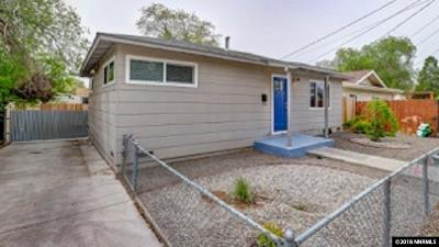 Reno Single Family Home Active/Pending-Call: 633 Cheney St