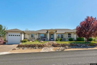 Washoe County Single Family Home Active/Pending-House: 14580 S. Quiet Meadow