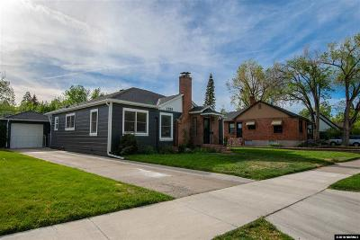 Reno Single Family Home For Sale: 1225 Nixon