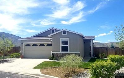 Reno Single Family Home Active/Pending-Loan: 7445 Red Baron Court