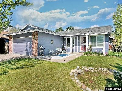 Reno Single Family Home Active/Pending-Loan: 4355 Camino Lindo Way