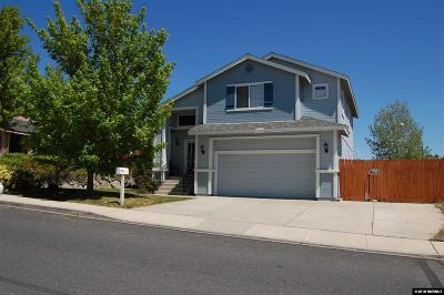 Reno Single Family Home For Sale: 1378 Backer Way