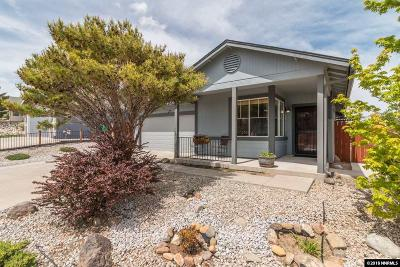 Reno Single Family Home Active/Pending-Call: 1700 Saturno Heights Dr