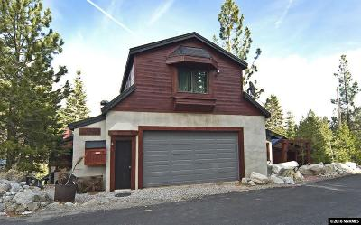 Reno Single Family Home For Sale: 20980 Mount Rose Highway