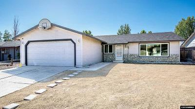 Carson City Single Family Home For Sale: 1249 Spooner Drive