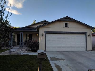Sparks Single Family Home Active/Pending-Loan: 297 Ave De La Bleu De Clair
