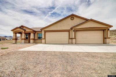 Fernley Single Family Home For Sale: 670 Cable Canyon
