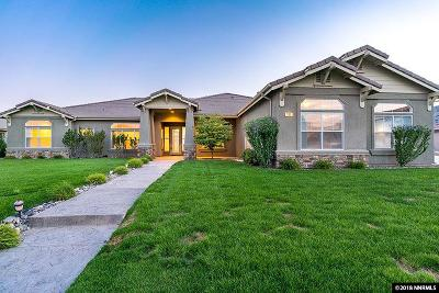 Sparks Single Family Home For Sale: 300 Mystic Mountain