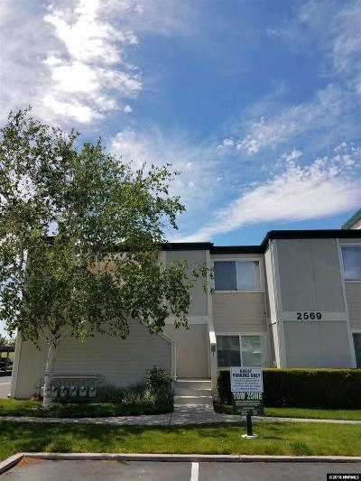 Sparks Condo/Townhouse Active/Pending-Call: 2569 Sycamore Glen #1