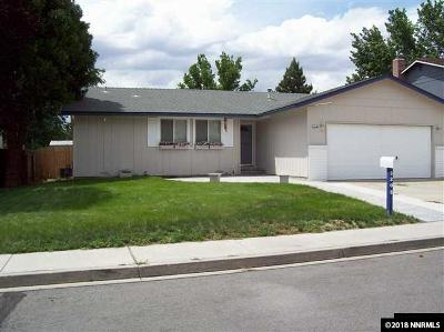 Sparks Single Family Home Active/Pending-Loan: 3205 Danville Drive