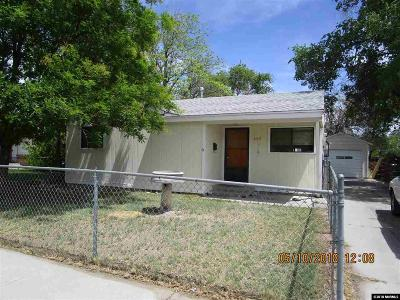Fallon Single Family Home Active/Pending-Loan: 465 S Russell