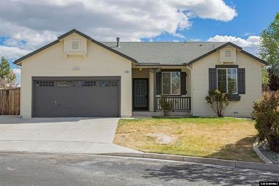 Reno Single Family Home Active/Pending-Loan: 11760 Desert Grass Court