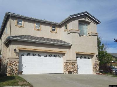 Sparks Single Family Home Active/Pending-Call: 4545 Pyramid Peak Circle