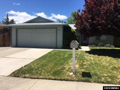 Reno Single Family Home For Sale: 3972 Kentwood Ct.