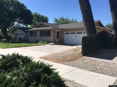 Carson City Single Family Home Back On Market: 1377 E Fifth Street