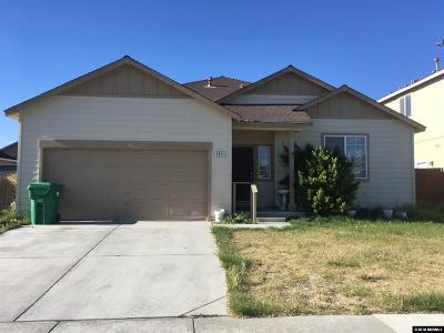 Fernley Single Family Home For Sale: 1311 Shadow