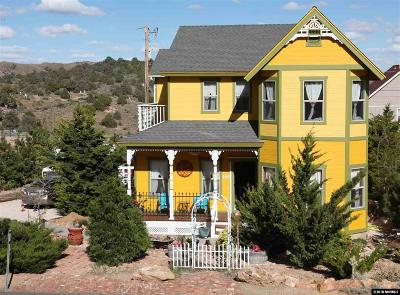 Virginia City Single Family Home For Sale: 225 N O Street