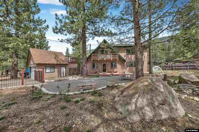 South Lake Tahoe CA Single Family Home For Sale: $525,000