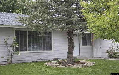 Carson City County Single Family Home For Sale: 1030 Ladera