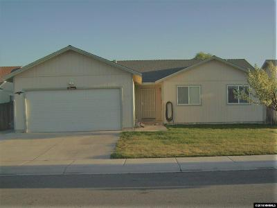Fernley Single Family Home For Sale: 2135 Fort Bridger Rd