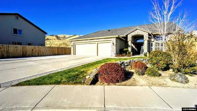 Washoe County Single Family Home Active/Pending-Loan: 2880 Sunline Drive
