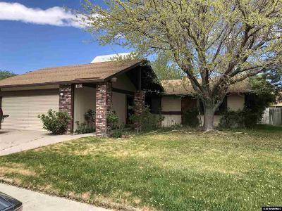 Carson City Single Family Home Active/Pending-Loan: 4196 Furnace Creek
