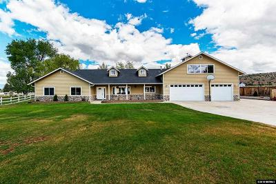 Gardnerville Single Family Home Active/Pending-Loan: 1978 Mule Lane