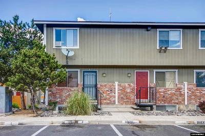 Washoe County Condo/Townhouse For Sale: 1414 E 9th Street #1