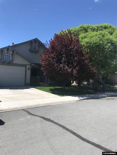 Sparks Single Family Home For Sale: 1031 Village Knoll