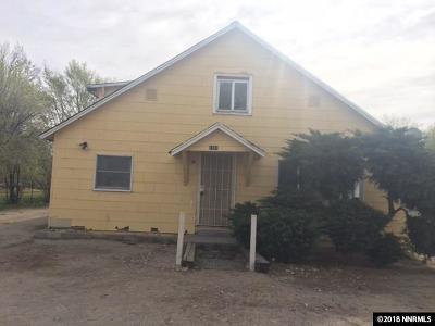 Fallon Single Family Home For Sale: 1181 S Maine
