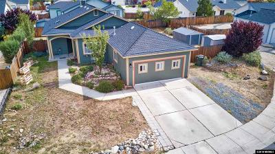 Carson City Single Family Home For Sale: 817 Amador Court #NV