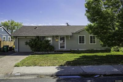 Reno Single Family Home For Sale: 810 Stoker Ave