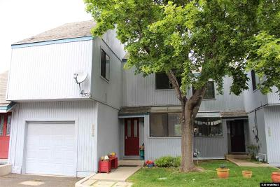 Washoe County Condo/Townhouse Active/Pending-Loan: 2510 Garfield Court