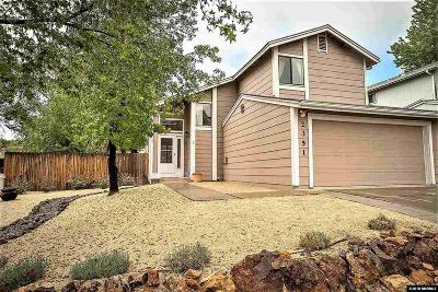 Reno Single Family Home For Sale: 2351 Melody Ln