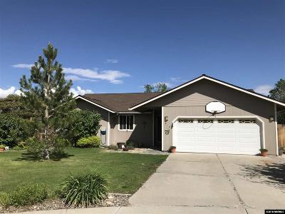 Gardnerville Single Family Home Price Reduced: 619 Renee Ct