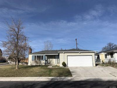 Washoe County Single Family Home For Sale: 701 Munley