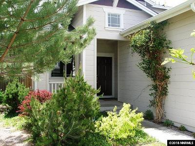 Reno Single Family Home New: 8910 Wynne Street