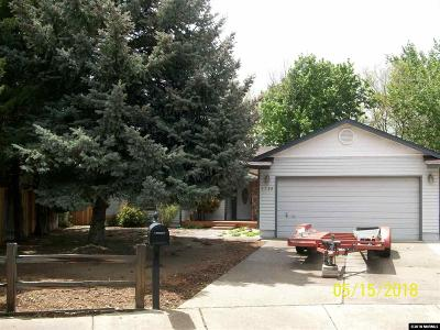 Sparks Single Family Home Active/Pending-Call: 1730 Crossing Court