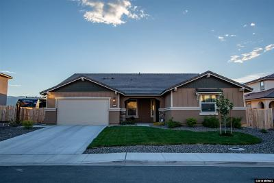 Reno Single Family Home Active/Pending-Call: 10025 Barrel Racer Dr