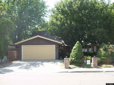 Reno Single Family Home New: 7489 Sandstone Drive