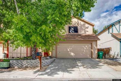 Washoe County Single Family Home New: 3132 Myles Dr.