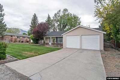 Carson City Single Family Home Active/Pending-Loan: 912 W Washington St.