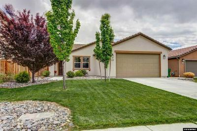 Washoe County Single Family Home Active/Pending-Loan: 11760 Cervino Dr